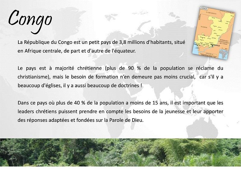 fiche Congo 2014