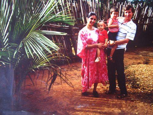 En 1987, à Bambari (Centrafrique)