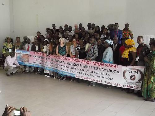Conférence CEMA de Mai 2013 à Yaoundé (Cameroun)