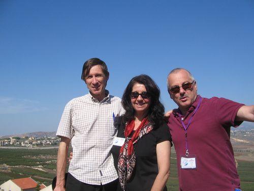 En Israël, en Octobre 2012 avec Tony SPERANDEO