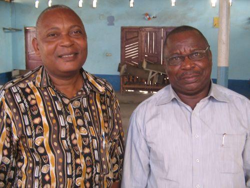 A Pointe Noire, au Congo (Août 2012)