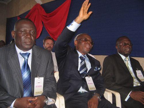 Conférence à Kinshasa (RDC) en Février 2011