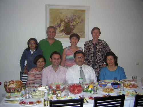 A Bucarest, Conférence Mission en 2005